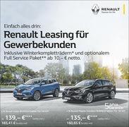 Aktion:Renault Leasing für Gewerbekunden