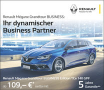 Aktion:Business Partner Megane Grandtour