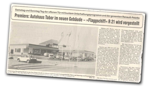 Autohaus Tabor - Standort Von-Drais-Straße