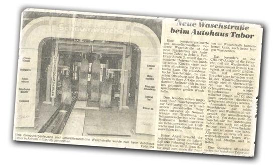 Autohaus Tabor - Waschstraße