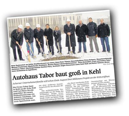 Autohaus Tabor - Kehl Europabrücke