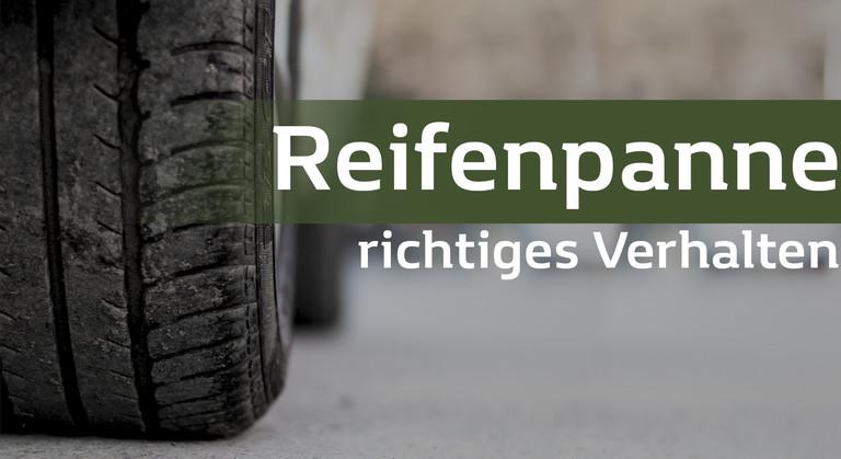 Reifen und Überschrift