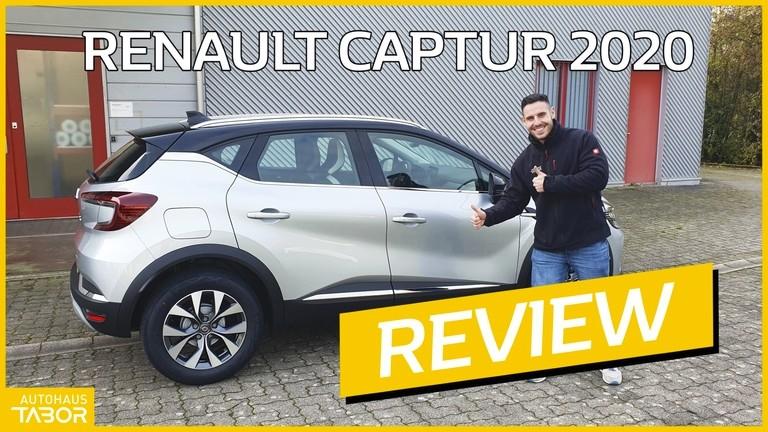 Mann vor Renault Captur