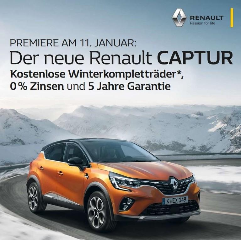 Renault Captur orange