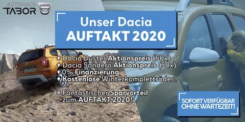 Aktion:Unser Dacia ANSTURM 2020