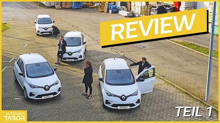 mehrere Renault Zoe