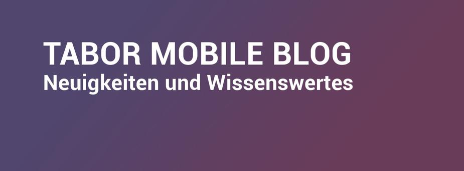 Header zum Tabor Mobile Blog