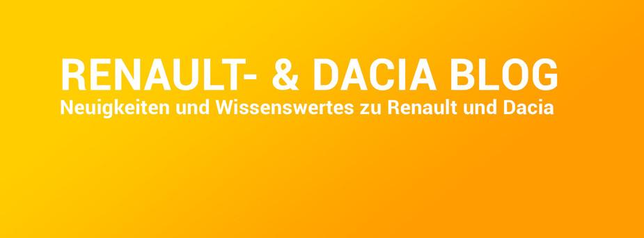 Header zum Renault-Dacia Blog