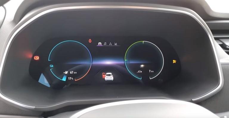 Bordcomputer im neuen Renault Zoe