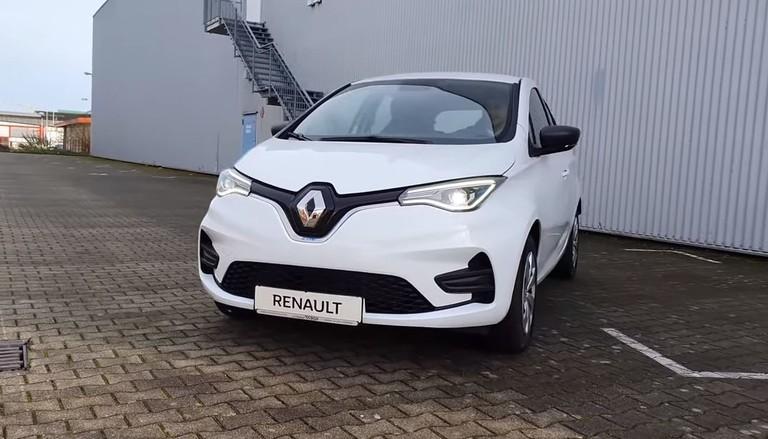 Frontscheinwerfer im Renault Zoe 2020