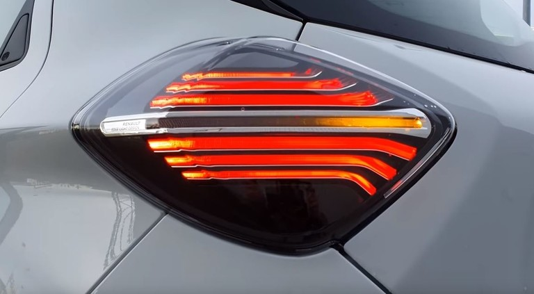 Rückleuchten Renault Zoe 2020