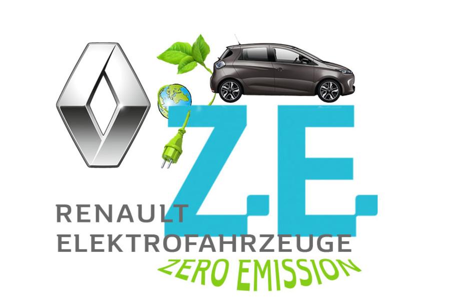 Titelbild mit Renault ZOE