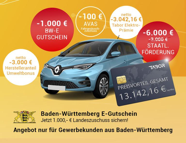 Banner E-Gutschein Baden-Württemberg