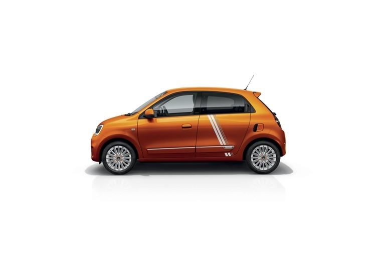 Renault Twingo Electric 2020 Seitenansicht