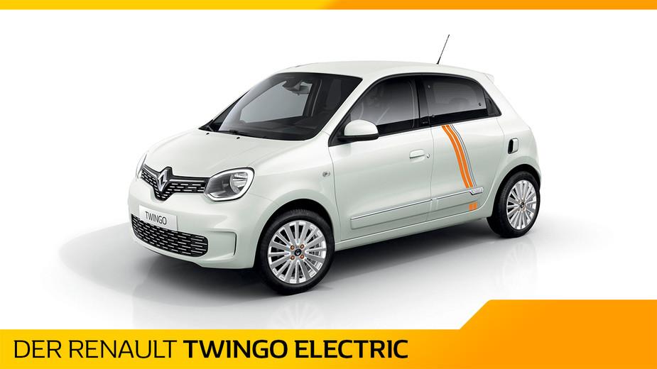 Titelbild Renault Twingo Electric