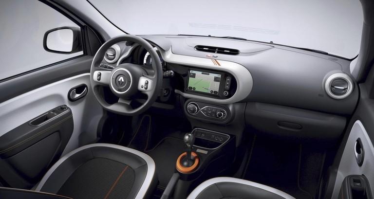 Renault Twingo Electric 2020 Innenraum