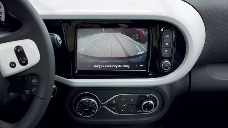 Renault Twingo Electric Touchscreen