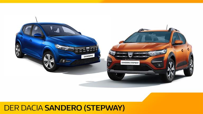Dacia Sandero und Dacia Sandero Stepway 2021