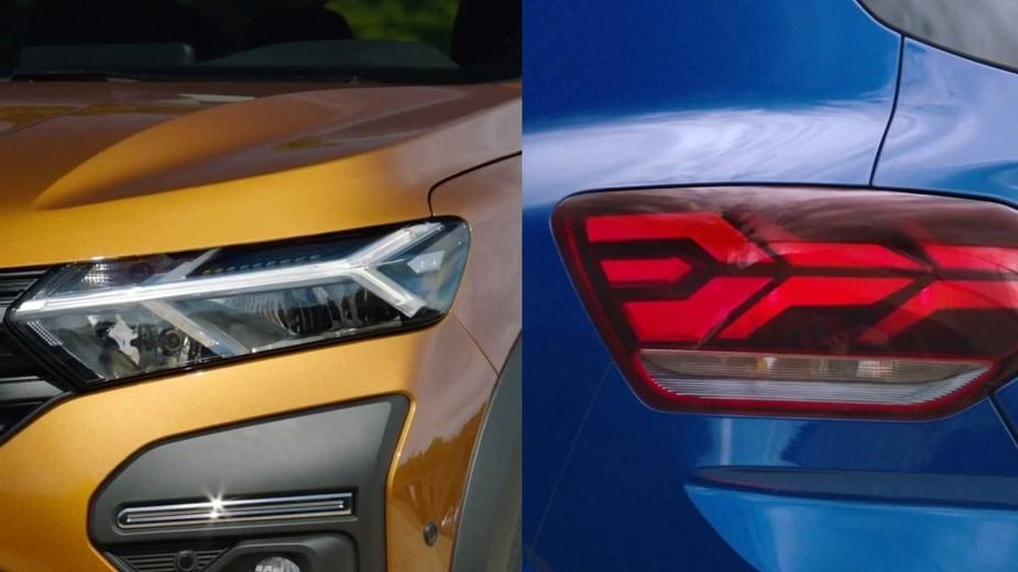 Dacia Sandero 2021 Scheinwerfer
