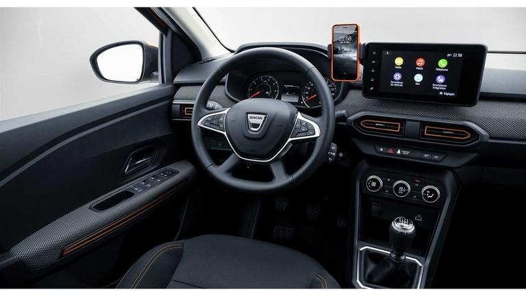 Dacia Sandero Cockpit