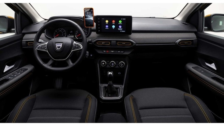 Dacia Sandero 2021 Innenraum