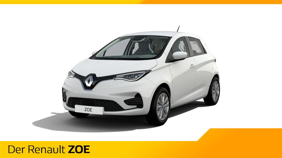 Renault Zoe weiß 2020