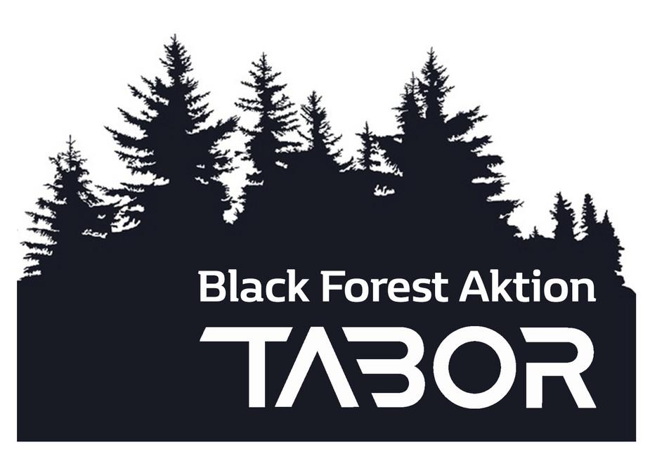 Schwarzes Logo für Black Forest Aktion