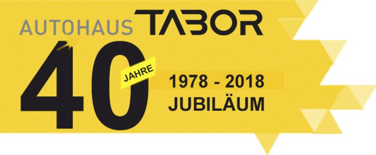 40 Jahre Juliläums-Banner