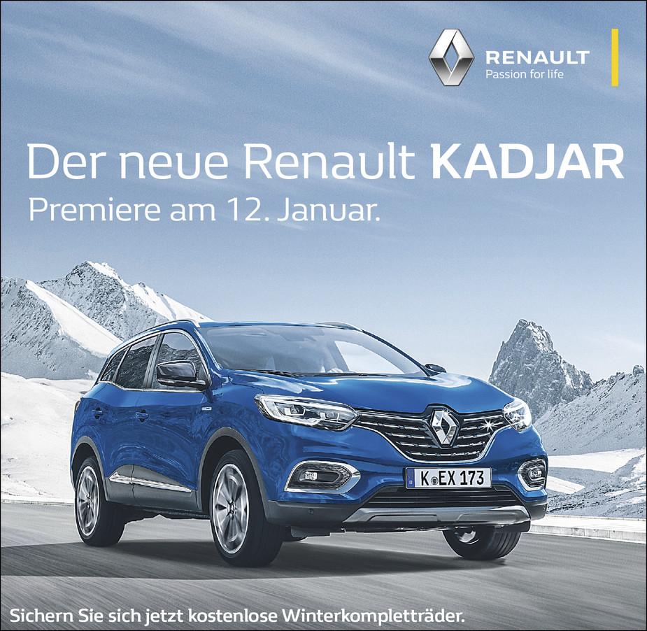 Renault Kadjar Banner - Renault Tag