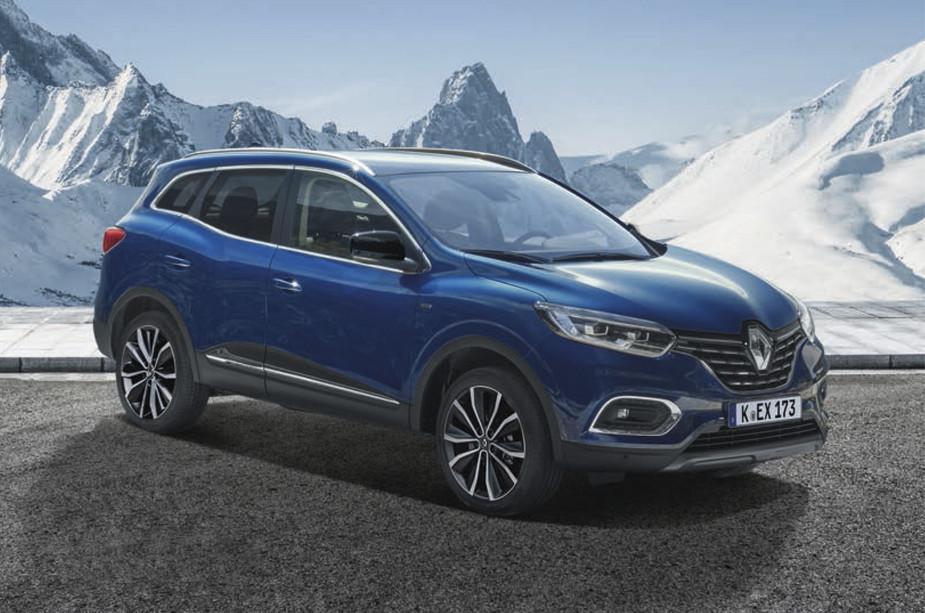 Renault Kadjar in blau